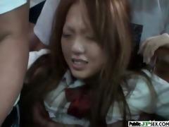 hot japanese love hard public sex clip-55