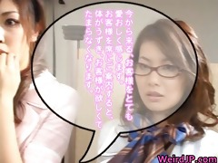 super sexually excited japanese babes in bizarre