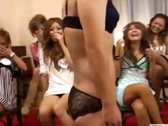 cfnm with outgoing japanese angels who playfully
