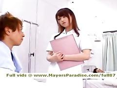 akiho yoshizawa from idol74 nasty oriental nurse