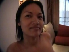 apple ravishing filipina sucks & copulates in