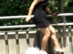 stealing pants of street walking gals 6..