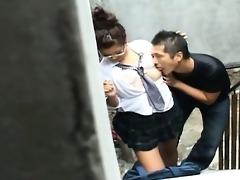 secretly filmed outdoor fuck voyeur