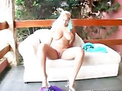 breasty arab whore sucks on an hard jock