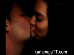 punjabi pair giving a kiss hot in car. (new)