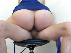 asian dominatrix-bitch takes what this honey