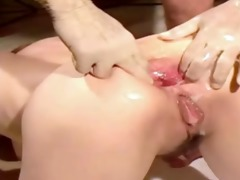 bizarre anal fisting and screwed