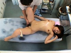 curly soaked wet crack massage