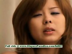 sakurako blameless chinese beauty masturbates her