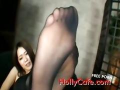 jav angel hose feet