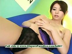 aya hirai virginal ravishing japanese gal desires