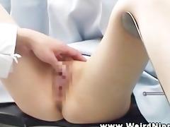 doctor finger checks oriental chicks love tunnel