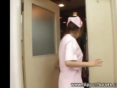 asian nurse uniform tugjob