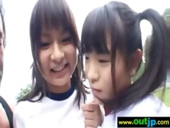 outdoor sexy cute asians receive nailed movie-25