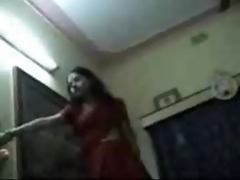 indian wife aditi and devar alok at home