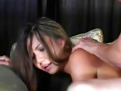 pecker engulfing thai girl in fishnet nylons