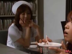 akina perverted oriental lesbian nurse part5