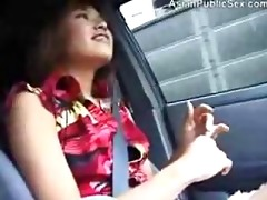 oriental public car and bathroom bj sexy japanese