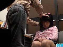 cute legal age teenager schoolgirl takes a hard