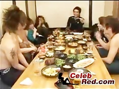 japanese drun sex party