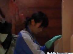 oriental maintenance worker walks into part10