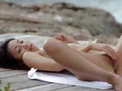 hot korean masturbation