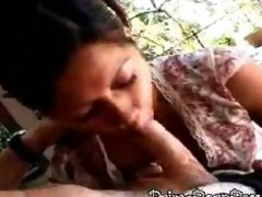 hawt asian hottie gives a very fleshly fellatio