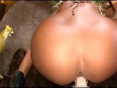 japanese bimbo with big sex toy - pov