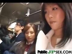 hawt japanese group-fucked hard in public movie-44