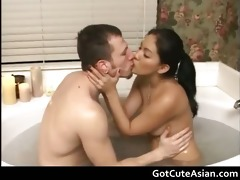 hot washroom oral job with hunny bunny