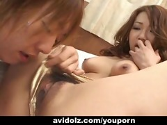 japanese hottie takes a hard unfathomable fucking