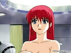 hawt anime women acquire lustful taking their