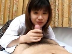 tokyo schoolgirl gives a oral sex