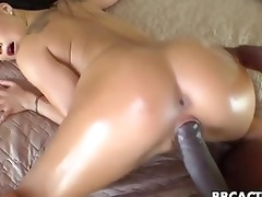 oriental babe acquires doggystyled by bbc