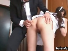 naughty and hot oriental housewife sucks part0