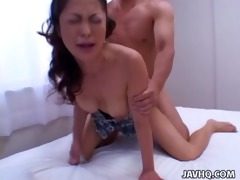 hot marie sugimoto drilled from behind!