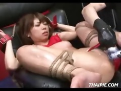 oriental oiled and made to orgasm