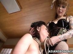 coarse oriental mistresse ploughs her ravishing