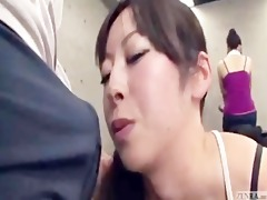 japanese erection at the gym