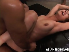 bound up oriental hottie acquires fucked lengthy