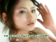 risa aian blameless oriental beauty is speaking