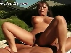 ultra oriental princess banged at the pool
