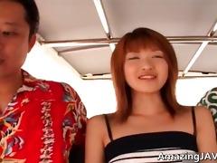 sexy oriental redhead honey engulfing pecker part8