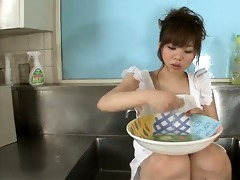 aoi in the kitchen sink her large love muffins