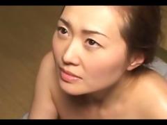 japanes milf fucking hard on the floor and loving