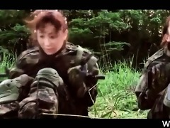 japanese women in the military acquire hungry for
