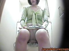 lustful japanese older hotties engulfing