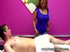 breasty masseuse acquires his hard cock in her