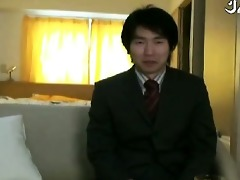 slutty japanese salary dude acquires jerked off