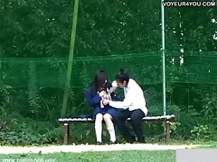 daylight sex at the bench